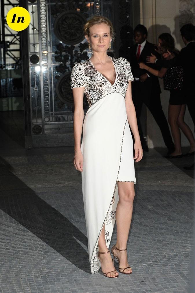 Diane Kruger au défilé Chanel