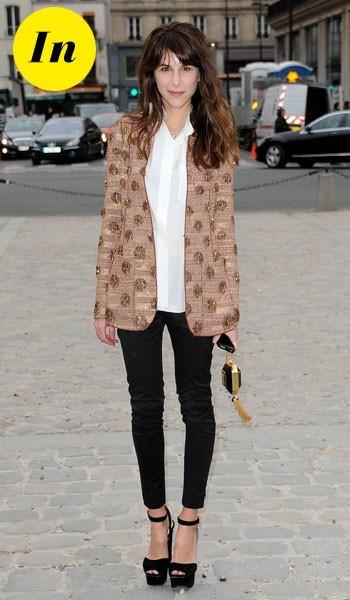 Caroline Sieber chez Louis Vuitton
