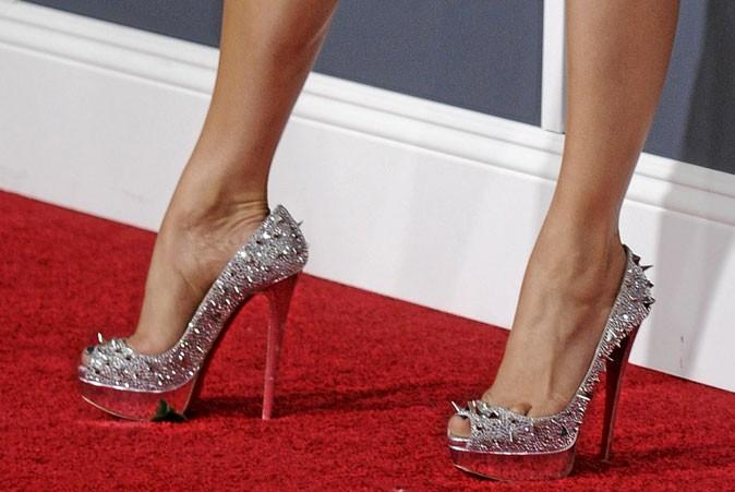 Des chaussures à talons piquantes