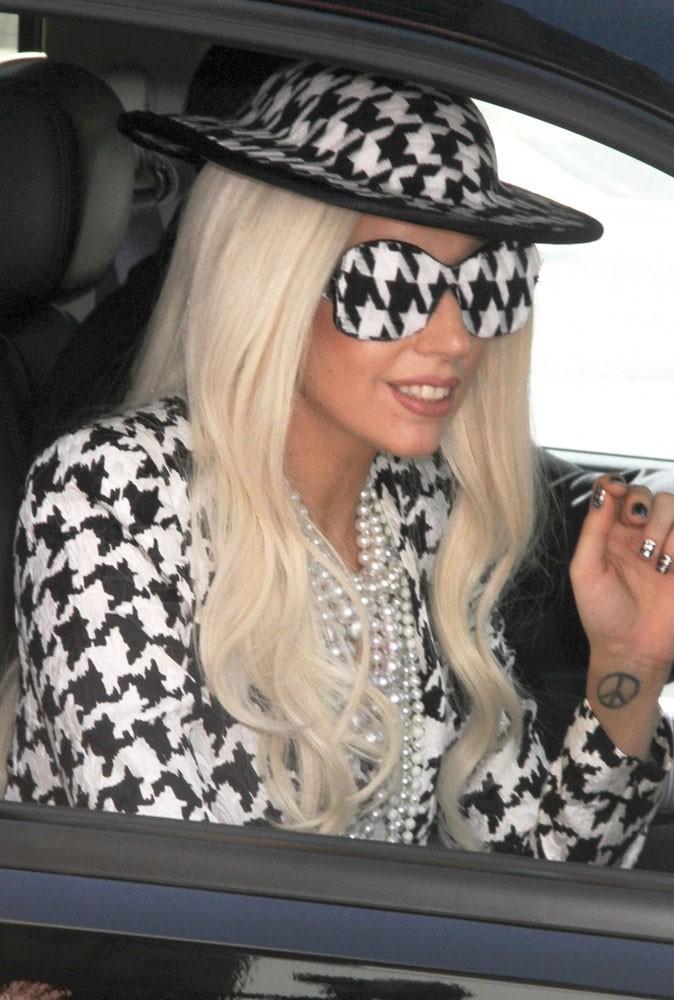 Le pied-de-poule de Lady Gaga