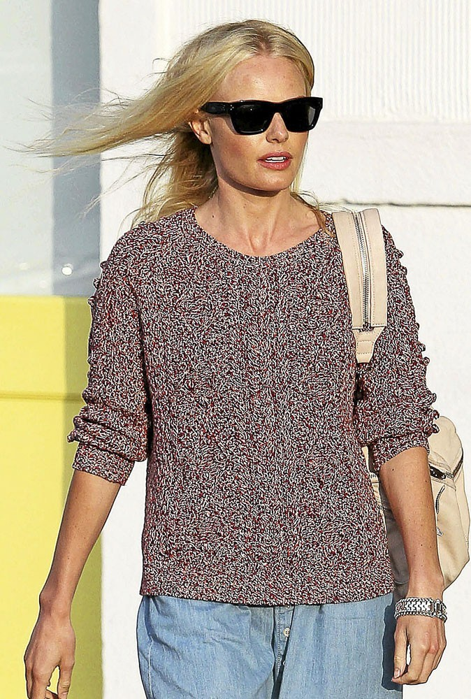Le pull maille de Kate Bosworth
