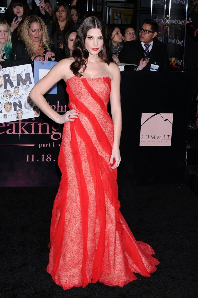 Le 14 novembre 2011 à l'avant première de Twilight - Révélation