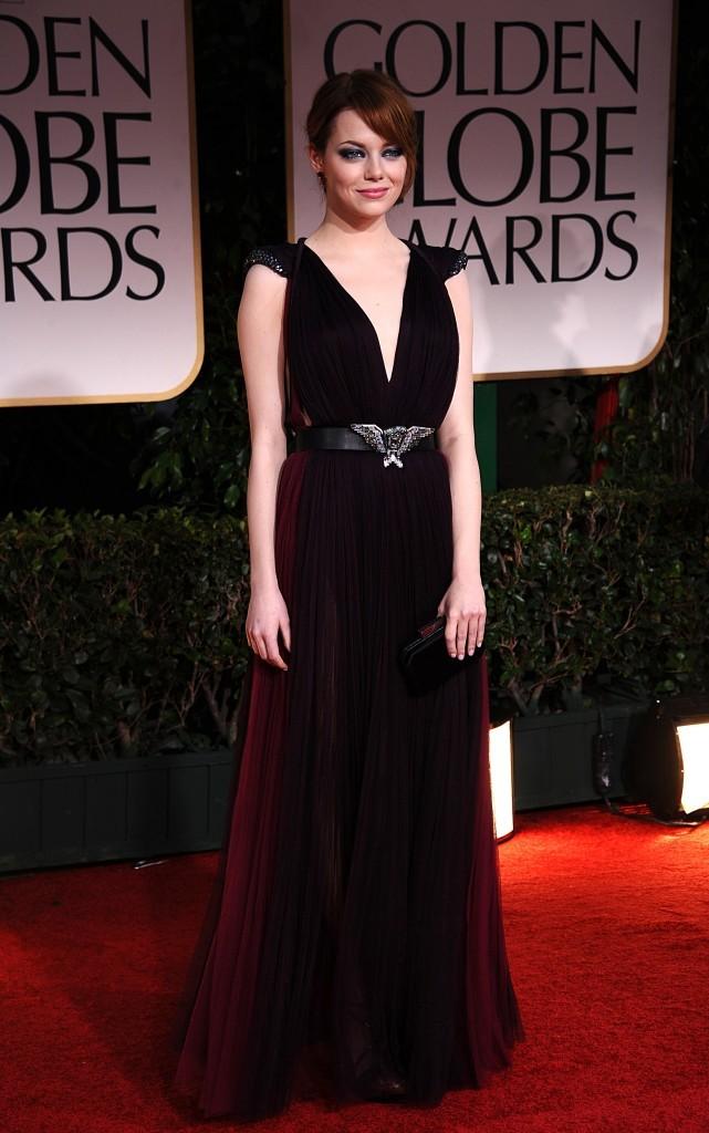 2012: Emma à la 69 è cérémonie des Golden Globes