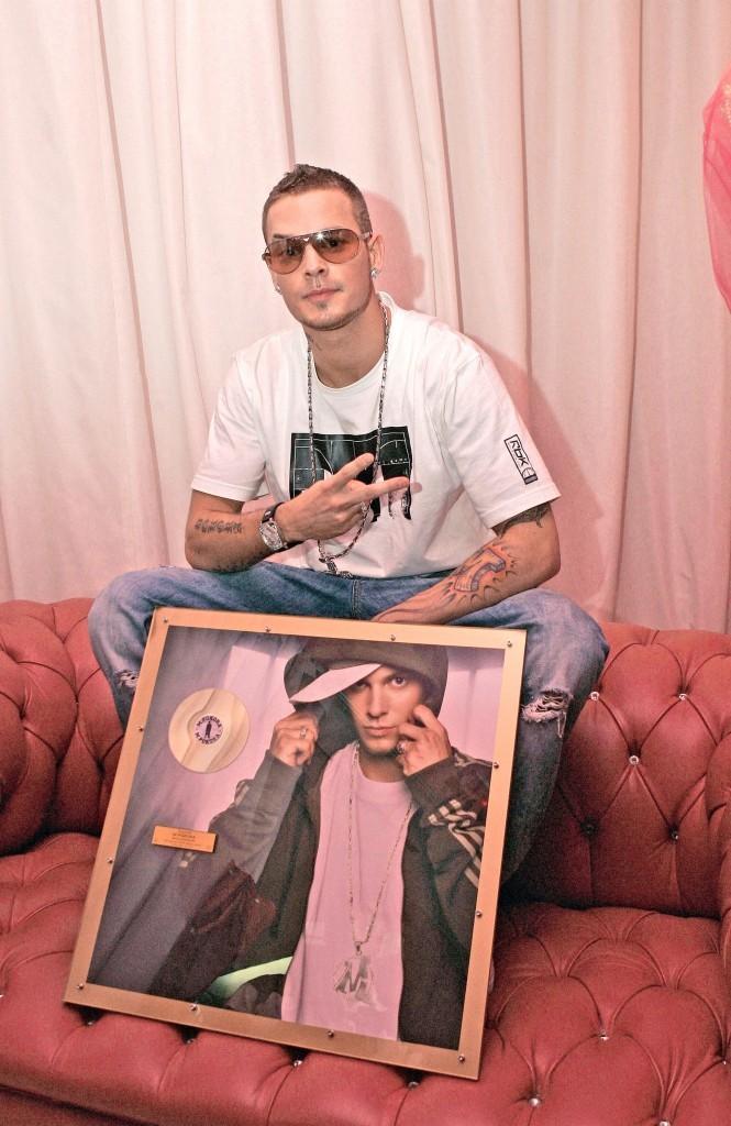 2005: M.P remporte son premier disque d'or solo !