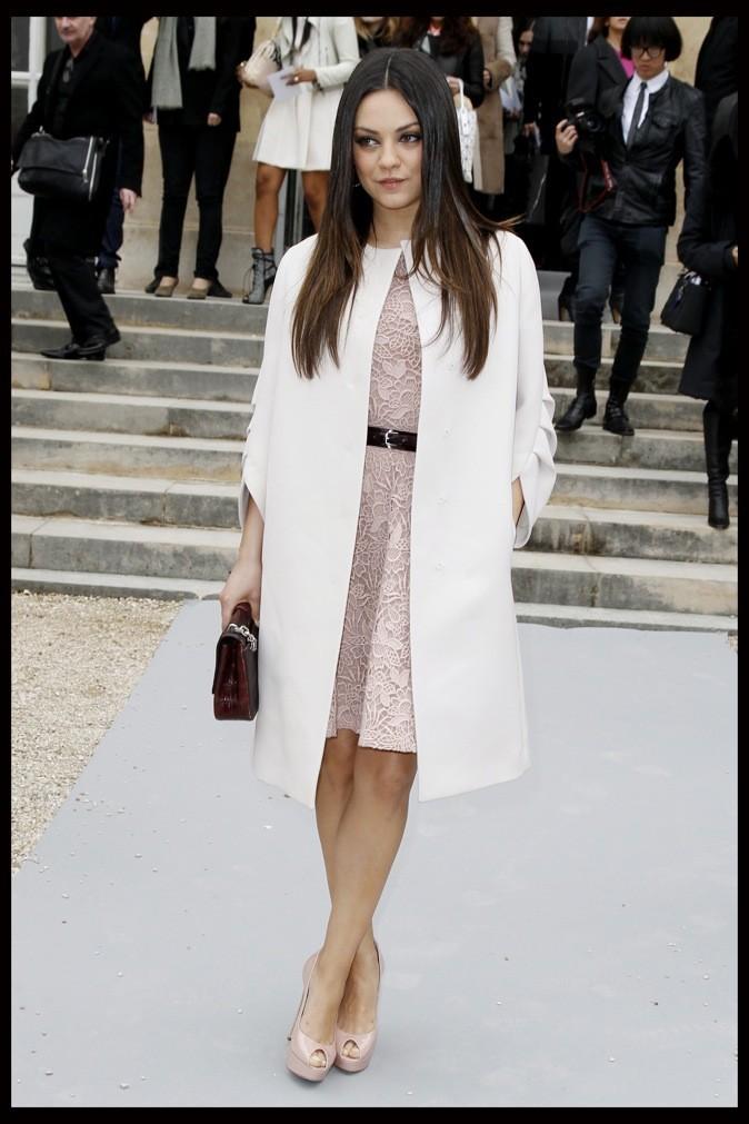 2012: Au défilé Dior !
