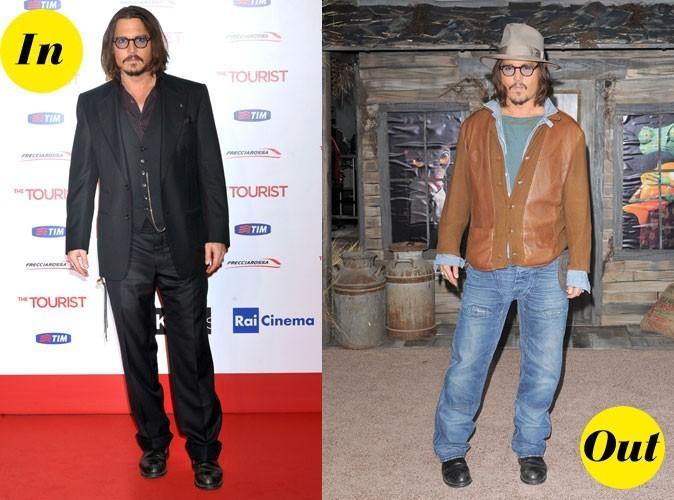 Look de star : Johnny Depp, un style entre grunge et vintage pas toujours au top !