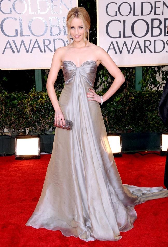 Les stars de Glee en mode glamour : la robe de princesse de Dianna Agron