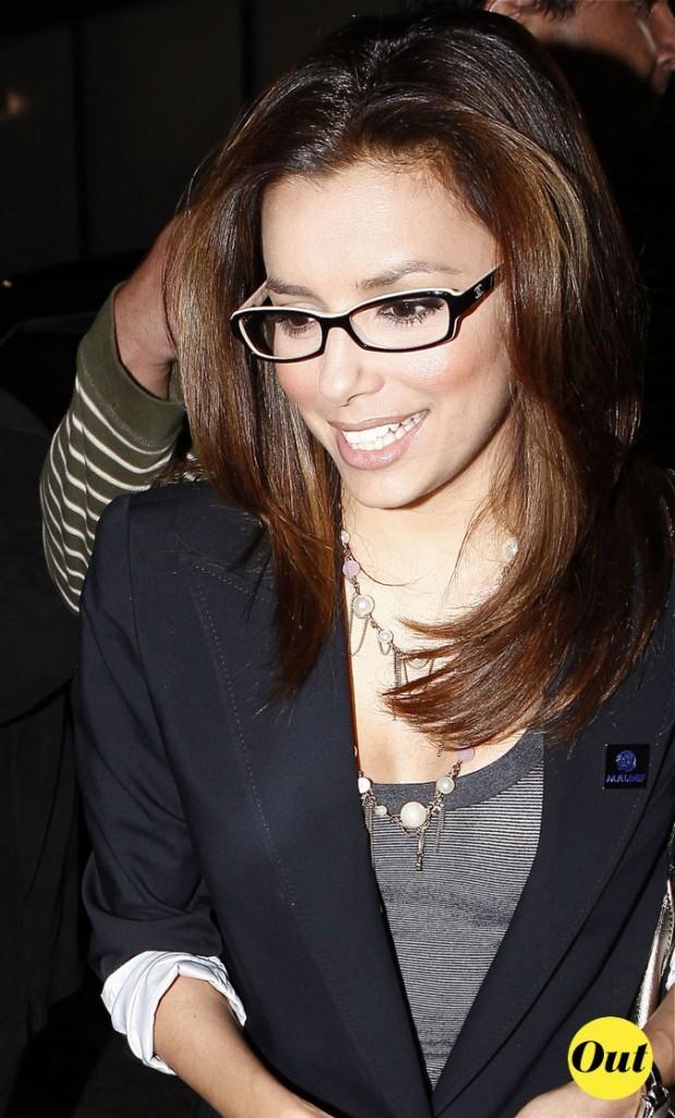 Les lunettes de vue tendance secrétaire d'Eva Longoria