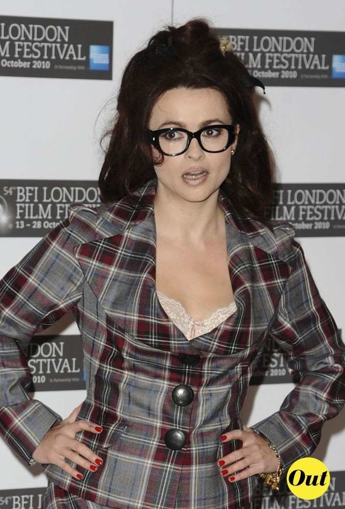 Les lunettes de vue tendance Wayfarer de Helena Bonham Carter