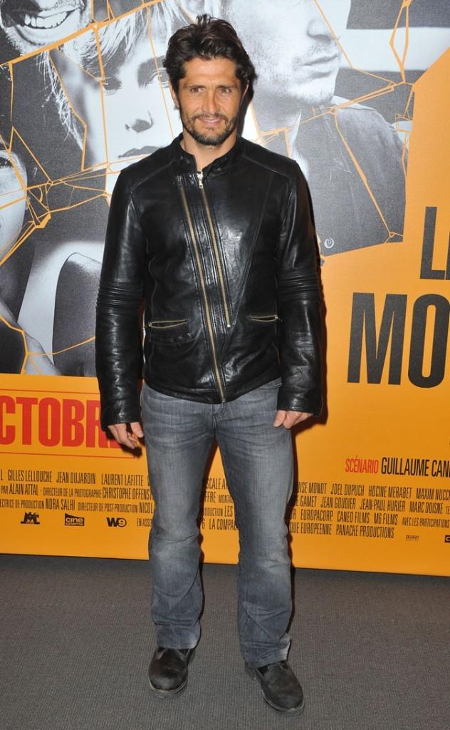 Le look fashion du joueur de foot Bixente Lizarazu