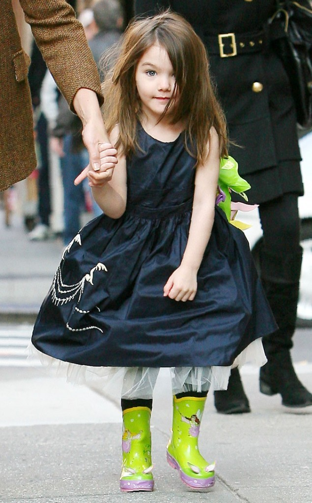 Look de star : la robe jupon de Suri Cruise