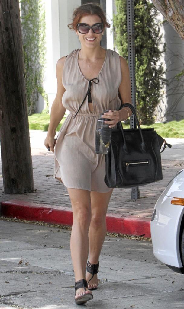 Kate Walsh avec son sac Céline