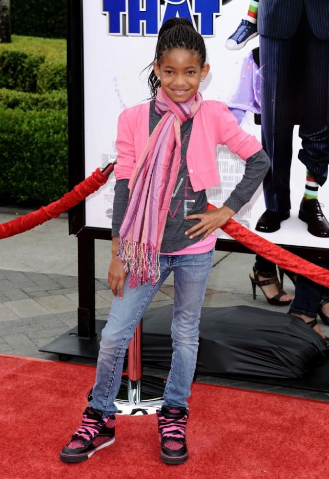 2009:toute de rose vêtue à L.A