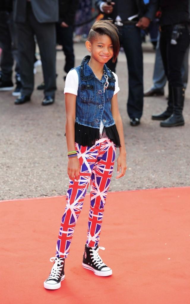 2010: A l'avant première de Karaté Kid à Londres