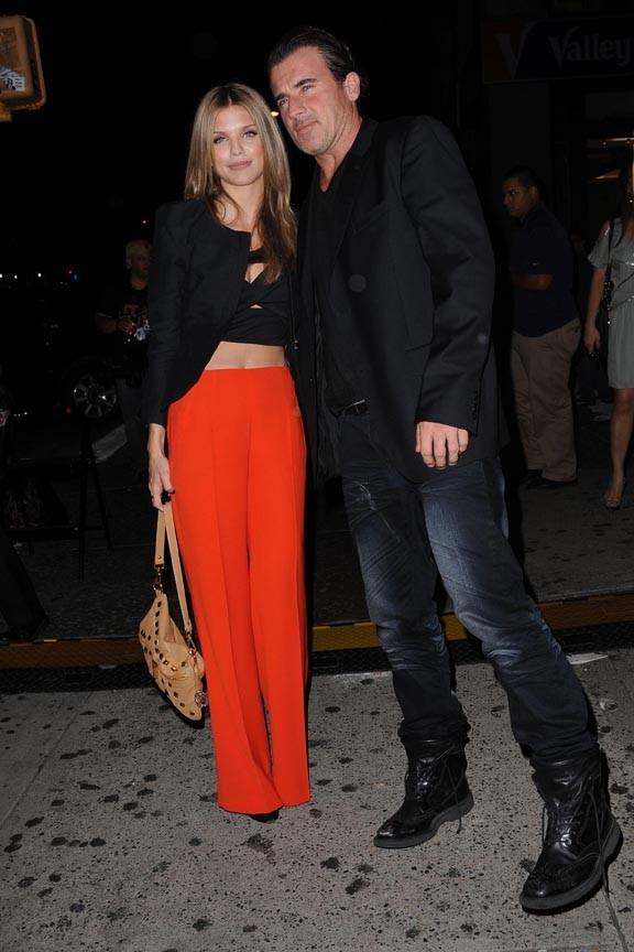 Couple glam d'Hollywood