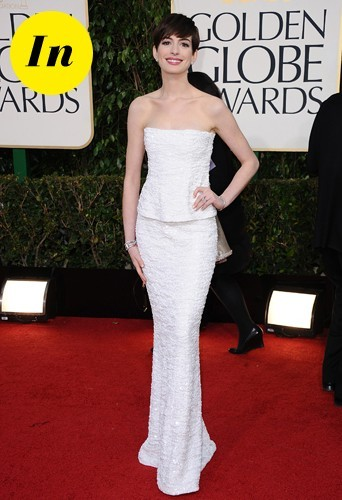 Une magnifique princesse en robe blanche Chanel.