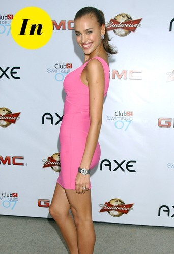 Irina Shayk en février 2007.