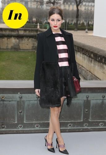 Olivia tout en Dior !