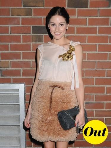 Un mouton en guise de jupe ? Olivia l'a fait avec sa jupe Mulberry !