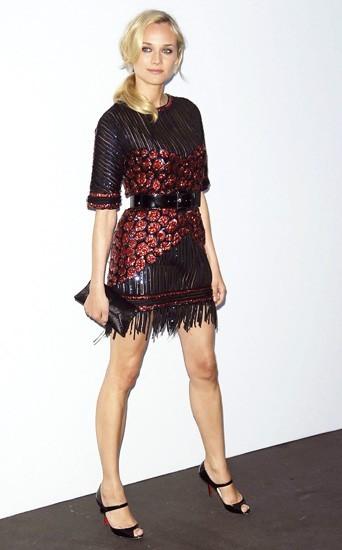 En robe rétro