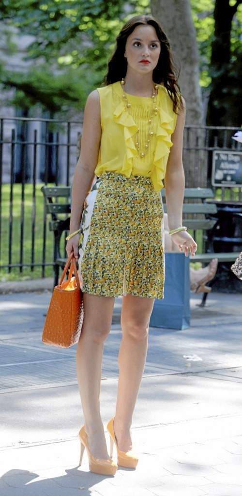 Le look acidulé Stella McCartney de Blair Waldorf !