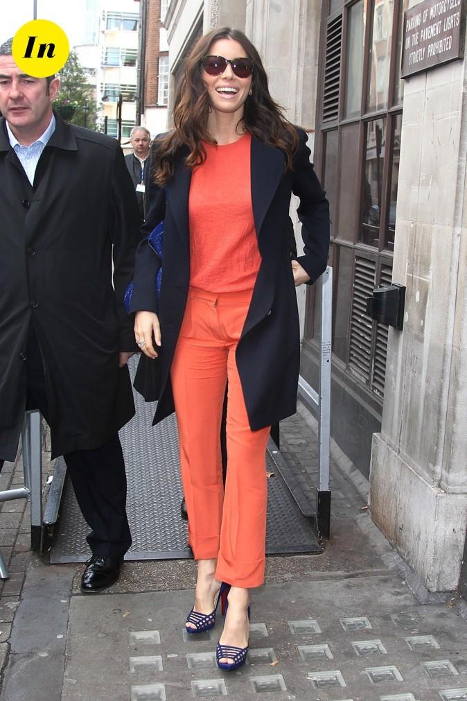 La couleur orange lui va si bien !