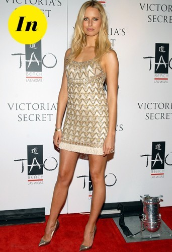 Une petite robe légèrement Bling-Bling pour la star la plus sexy de l'année 2007
