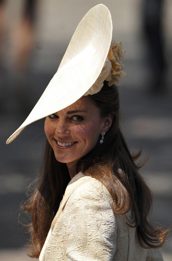 Kate Middleton au mariage de Zara Philips