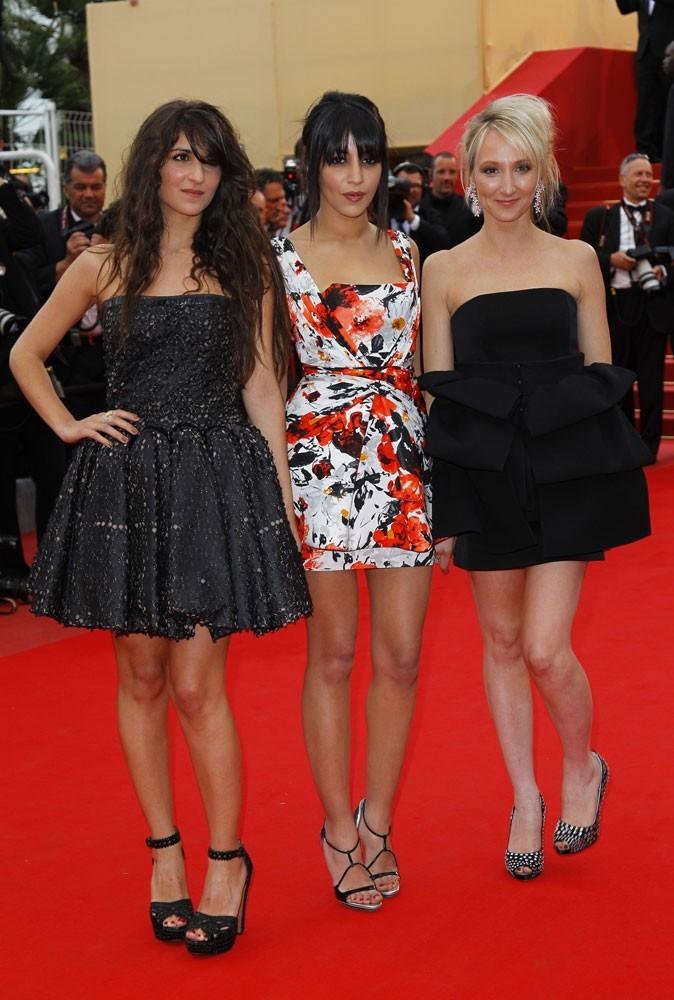 Les robes chic de Géraldine Nakache, Leïla Bekhti et Audrey Lamy au festival de Cannes 2010 !