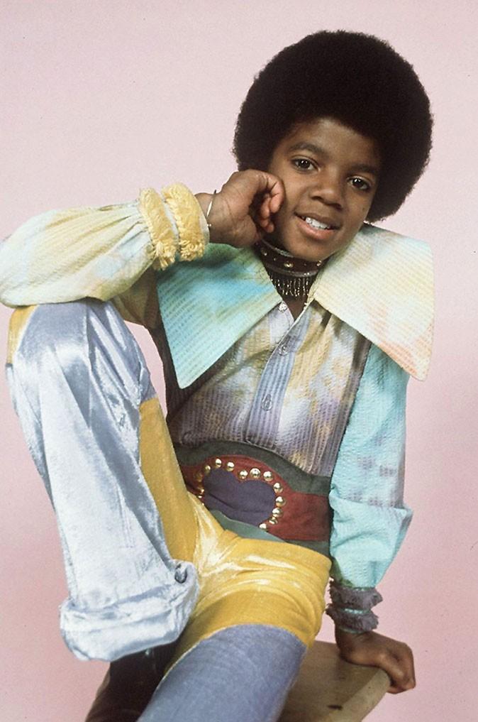 Look de Michael Jackson : une tenue vintage à la limite du déguisement en 1971
