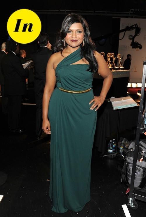 Mindy Kaling : telle une déesse dans cette robe aux inspirations grecques !