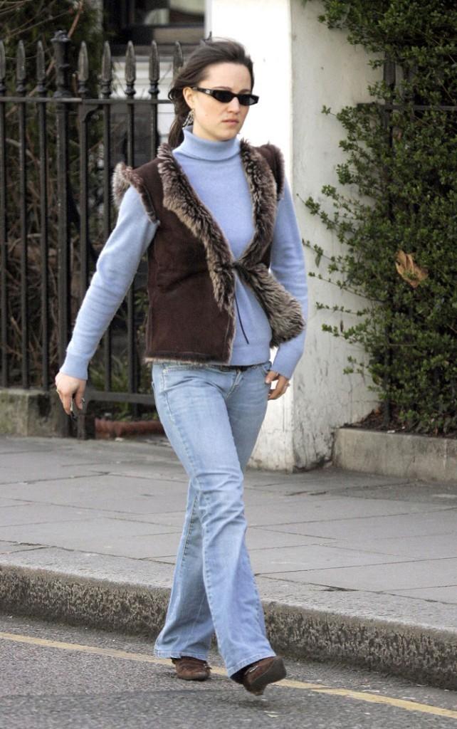 Le look jean de Pippa Middleton en avril 2006