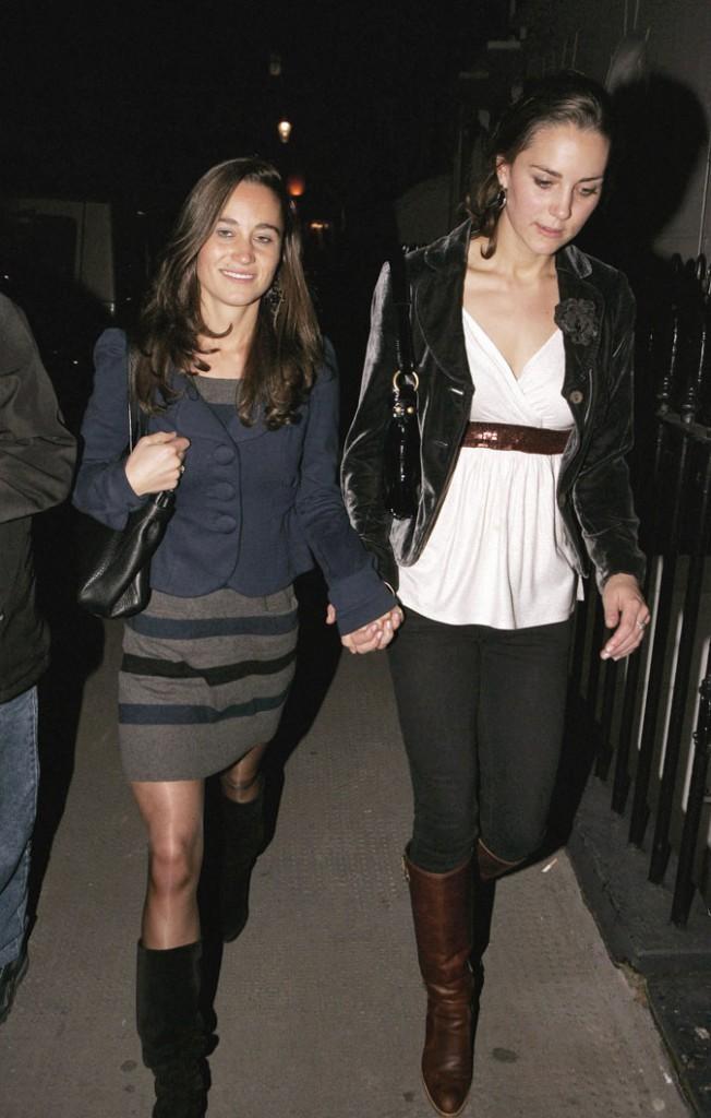 Le look jupe chic de Pippa Middleton en octobre 2007