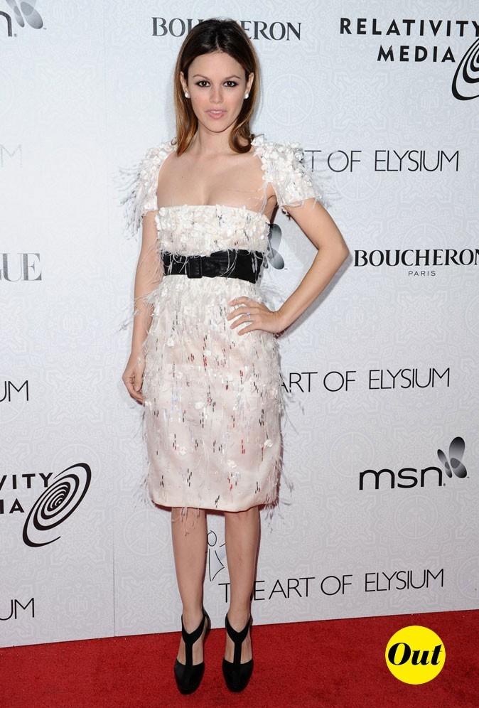 La robe à franges de Rachel Bilson en Janvier 2010 !