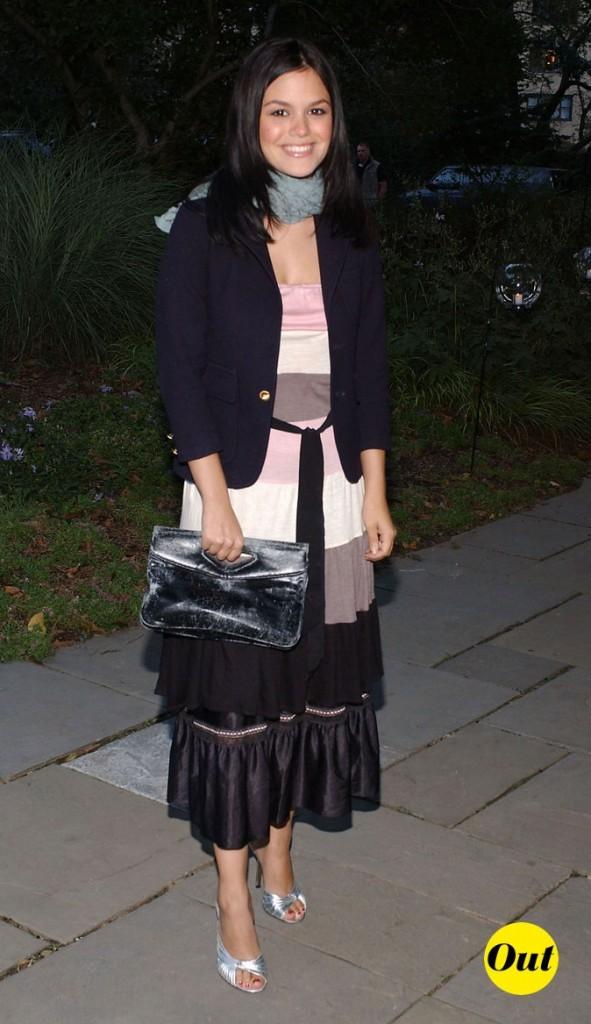 Le look grand-mère de Rachel Bilson en Octobre 2003 !