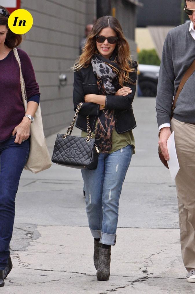 Le sac Chanel et les low boots Philippe Lim de Rachel Bilson en Octobre 2010 !