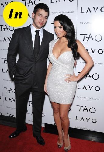 Rob Kardashian et Kim Kardashian