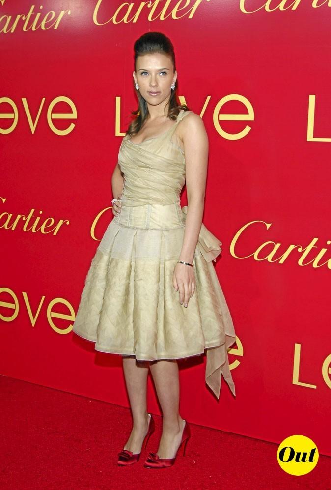 Scarlett Johansson en 2006 : un jupon trop vintage