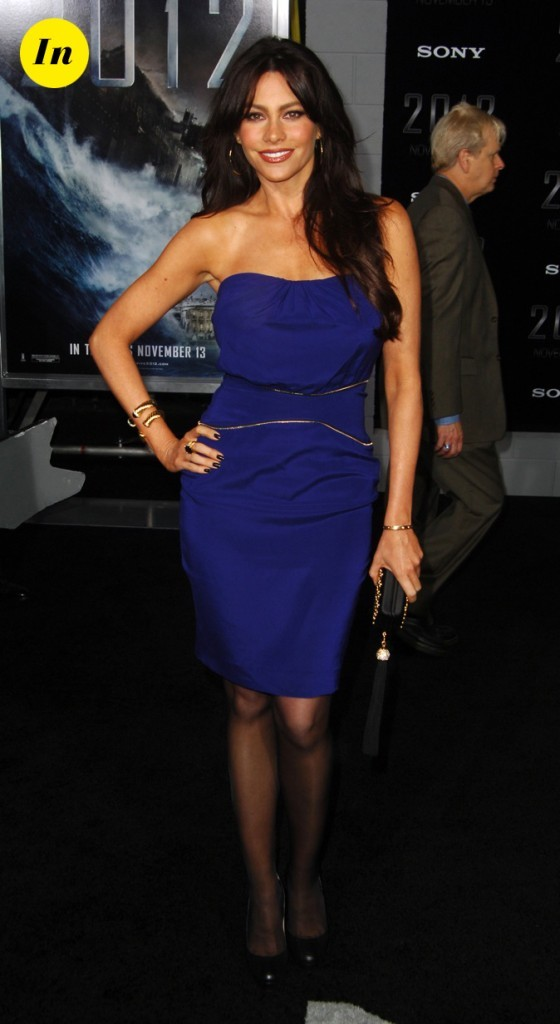 2009 : Sofia Vergara lors de l'avant première de 2012 !