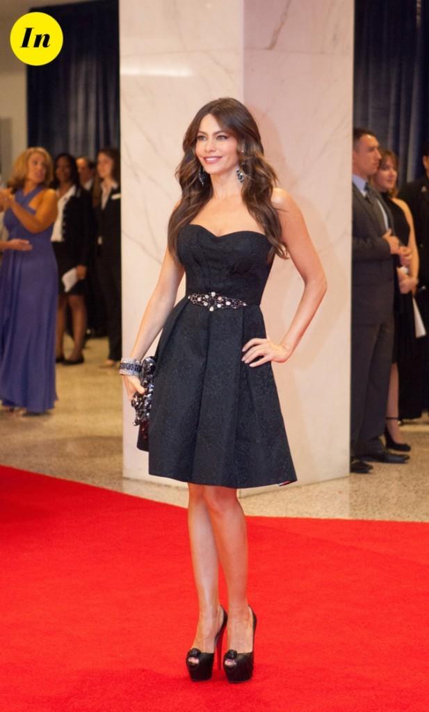 Avril 2012 : Sofia Vergara est conviée à la Maison Blanche !