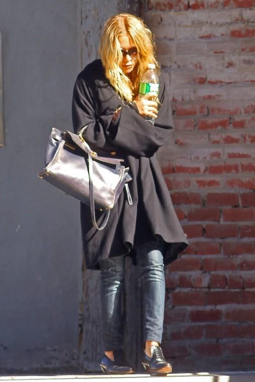 Mary-Kate Olsen moins fashion que sur le red carpet