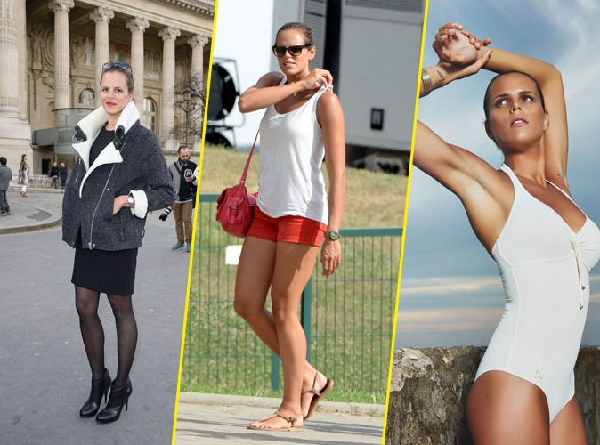 Looks de stars d couvrez le cv fashion plut t d contract de laure manaudou - Fille de laure manaudou ...