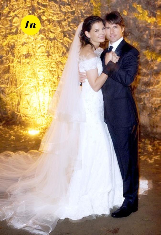 La robe de mariée de Katie Holmes