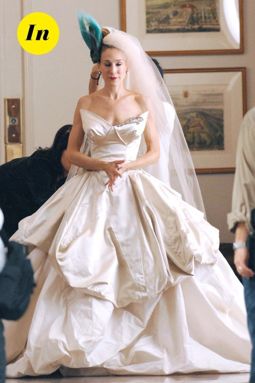 La robe de mariée de Sarah Jessica Parker