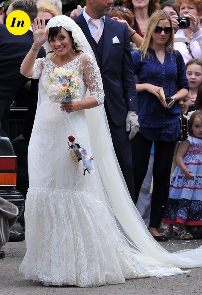 Lily Allen enceinte épouse Sam Cooper en 2011