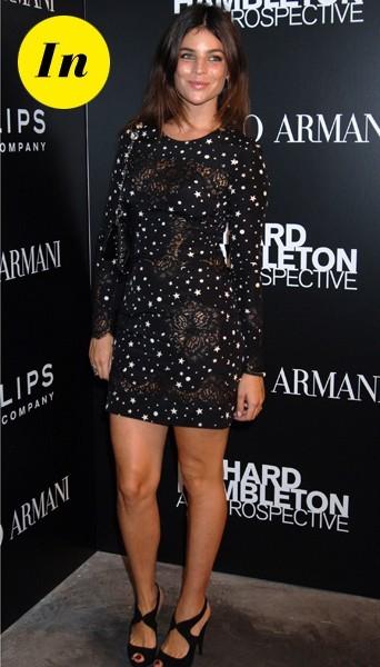 Julia Restoin-Roitfeld (fille de Carine Roitfeld, ex-rédac chef de Vogue)