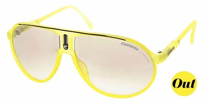 Les lunettes fluo
