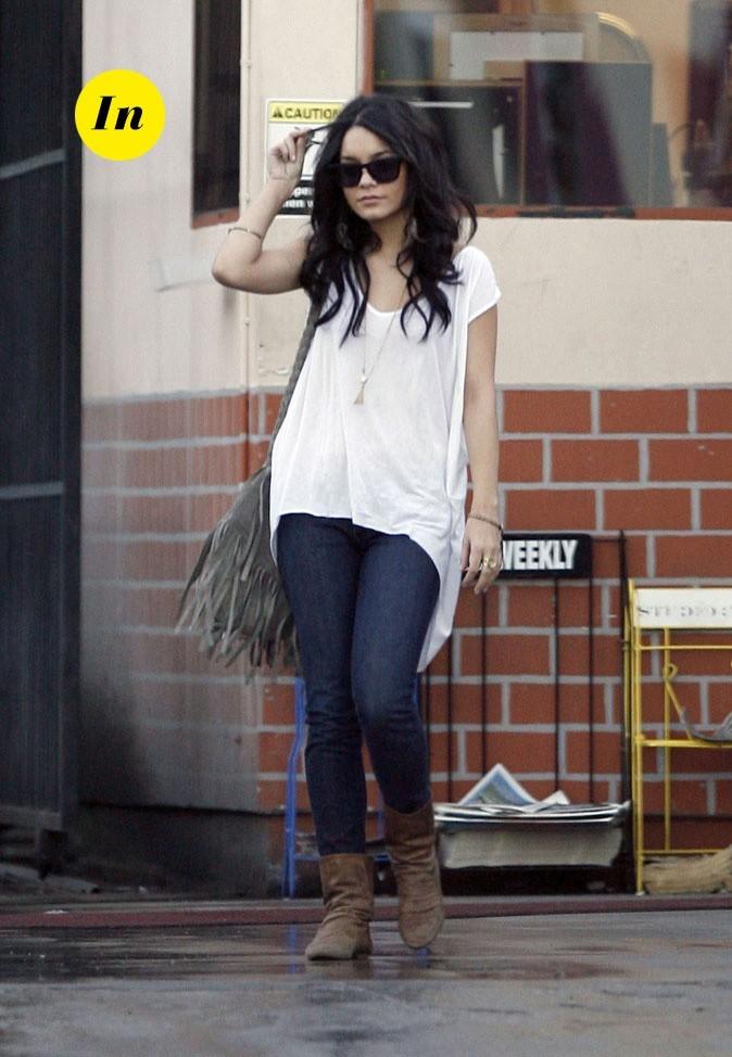Le look hippie chic de Vanessa Hudgens en Janvier 2009 !