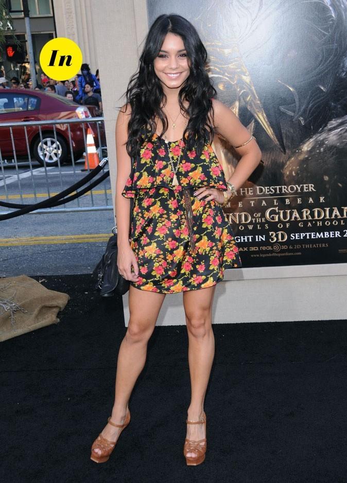 Le look hippie chic de Vanessa Hudgens en Septembre 2010 !