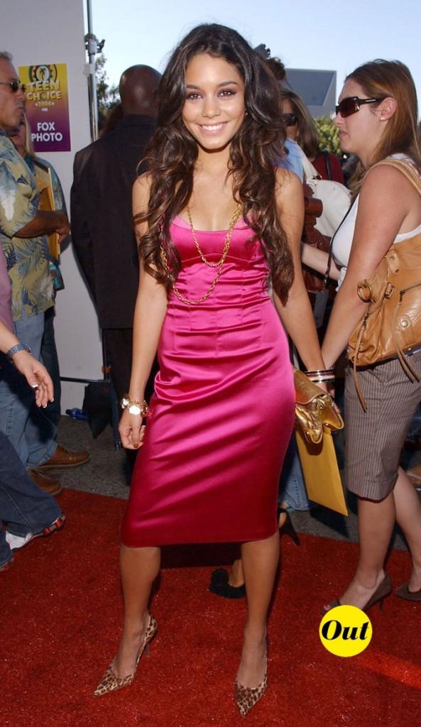 Les débuts sur tapis rouge de Vanessa Hudgens en Août 2006 !